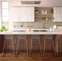 Moderne køkkenindretning